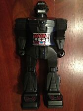 Vintage Battery Operated ROBOT Plastic Made In Hong Kong Late 1960's To 1970's