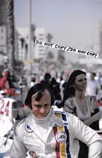 9x6 Photograph, Chris Amon  F1 Ensign Portrait  US GP Long Beach 1976