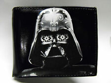 Darth Vader Leather Wallet Day of the Dead - M185