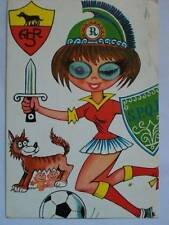 CARTOLINA POSTCARD 3D RAGAZZA MOVING EYES BAMBINA VIAGGIATA 1973 ( M14-9- )