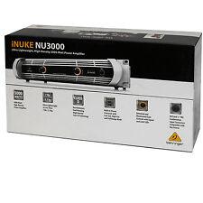 Behringer iNUKE NU3000 Rackmount Power Amplifier 1500W Peak/ch @2 Ohms 2-channel