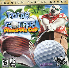 POLAR GOLFER Pineapple Cup Fun Sports Golf PC Game for Windows XP/Vista NEW CD