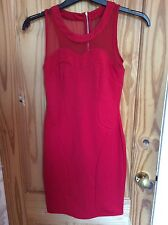 Shop Direct Home Drama Queen Sleeveless Red Dress - UK Size 8