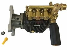 "4000 PSI Pressure Washer Water Pump 1"" Horizontal Shaft Coleman Generac Excel"