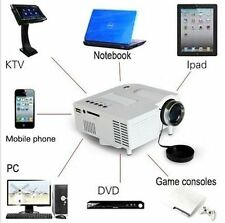 Mini Home Cinema Theater 1080P HD Multimedia USB LED Projector AV TV VGA HDMI E1