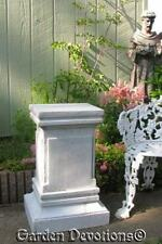 """25"""" INDOOR/OUTDOOR STATUE PEDESTAL HALL / ENTRY STAND Choose Any Color *USA*"""