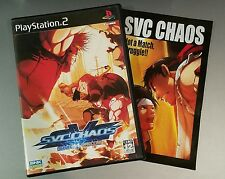 SNK vs. Capcom: SVC Chaos (Sony PS2) RARE Complete VG Japan Import Playstation 2