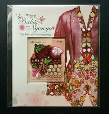 Baba & Nyonya Heritage Malaysia 2013 Costume Wedding (embroidery ms) MNH Limited