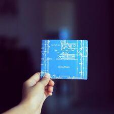 Little Big Blueprint Paper Wallet