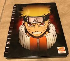 Naruto Ultimate Ninja Storm 1 Limited Edition 2 CD set w/ steel book  PS3