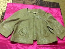 top shop size 14 sparkle swing jacket . perfect for christmas