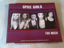 THE SPICE GIRLS - TOO MUCH - UK CD SINGLE - PART 2