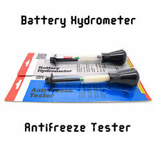 Battery Hydrometer + Anti Freeze Tester Diagnostic Tools Accessories Service Kit