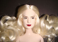 Nude, Disney Character The White Queen 12 Inch Female Doll lg06