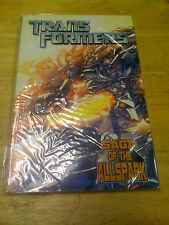 IDW Transformers Movie Prequel: Saga Of The All Spark TP FREE Ship US