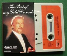 James Last The Gentleman of Music Best of My Gold Records Cassette Tape - TESTED