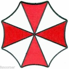 Resident Evil Umbrella wappen neu bestickt Regenschirm umbrella patch