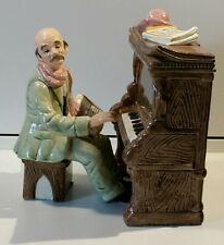 Vintage TOYO Music Box Porcelain Piano Player Plays Yesterday from the Beatles