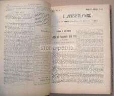 NAPOLI_IURIDICA_AMMINISTRAZIONE CIVILE_SENTENZE_ELEZIONI_ABEILLE_PERIODICO_1885
