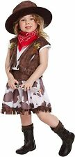 Cow Girl Fancy Dress Dressing Up Costume Toddler Outfit World Book Day NEW
