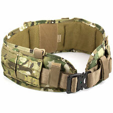 Bulldog MKII Combat Military Army Padded MOLLE Belt w/ Cobra Buckle MTP Multicam