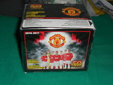 BOX PANINI FIGURINE MANCHESTER UNITED 2010 2011 SIGILLATO FULL 50 BUSTINE SEALED