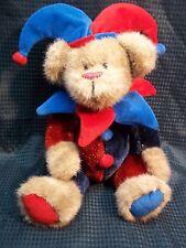 So Cute! JESTER TEDDY BEAR by Sugar Loaf