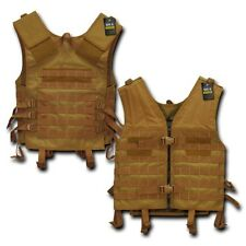 Coyote Molle Modular Assault Military Tactical Protective SWAT Police Vest Gear