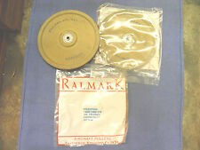 """Pulley, aircraft cable pulley, 6-1/4"""" OD x 3/8"""", ball bearing, 1/8"""" cable, ( 2 )"""
