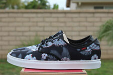 VANS OTW LUDLOW SZ 8.5 3D ALOHA BLACK WHITE OFF THE WALL VN 0ZUTGNF