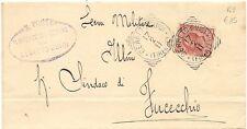 P8703   Firenze, Cerreto Guidi, ann. tondo riquadrato, 1911