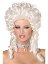 Fancy Dress - Baroque 18th Century Renaissance White Wig with Ringlets - 42122