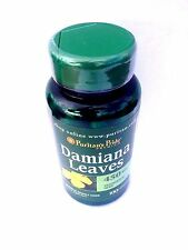 2X Damiana Leaves 450 mg 100 Capsules Herb of Passion Sexual Energy Endurance