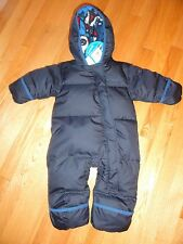 Columbia Sportswear Baby Boys Snowsuit Snuggly Bunny Down Bunting 6M - 12M NWT