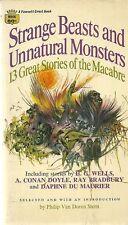 Strange Beasts and Unnatural Monsters 1968 Occult/Supernatural Vintage VG+