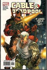"""CABLE & DEADPOOL #5 MARVEL 09/04 LIGHTMASTER """"IF LOOKS COULD KILL"""" Pt 5 FN/VF"""