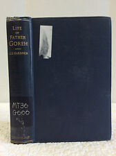 LIFE OF FATHER GOREH By Charles.E. Gardner- 1900 Indian Brahman convert Anglican