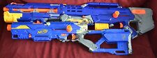 Nerf Lot Longshot + Longstrike CS 6 N Strike Dart Gun Blue