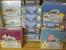10-BOXES WEBKINZ : 1 2 3 4 TRADING CARD CASE SEALED BOXES Assorted Series Lot