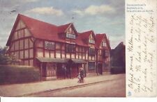 "Tuck's ""Oilette"" Shakespears Birthplace by Artist Raphael Tuck. 1903 GC"