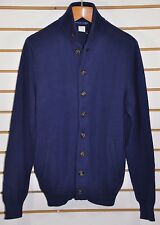 Men's Ralph Lauren Polo Golf, Ribbed Cotton Button Mock-Neck Cardigan. Size M