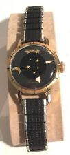 VINTAGE CONSUL SWISS LUNASTAR 17 jewel LADIES WATCH KALIEDASCOPE COCKTAIL WORKS