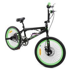 20 inch dark green BMX bicycle mountain bike Shimano disc brake lightweight