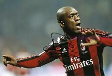 CLARENCE SEEDORF - AC MAILAND - SIGNED IN PERSON AUTOGRAMM AUTOGRAPH 20x29,5 CM