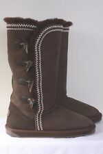 Emu Boots Boot Albina Chocolate Brown Uk 8