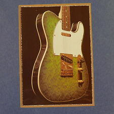POP-CARD feat. FENIX TELECASTER DETAIL , 11x15cm greeting card aaw