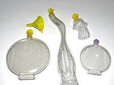 Lot of 4 New Sand Art Bottles and Funnel Low Price