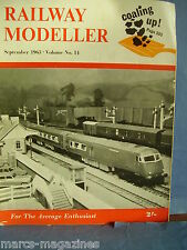 RAILWAY MODELLER SEPTEMBER 1963 FENNY STRATFORD TEES-SIDE YARD IRONSTONE QUARRY