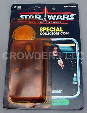 Star Wars PotF The Emperor w/ Special Collector's Coin Unpunched Card Kenner '84