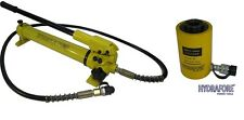 """Hydraulic Hand Pump with Single-acting Hollow Ram Cylinder (20tons 2"""")"""